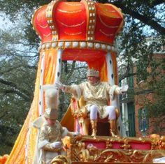 King Rex - the final and largest parade of the New Orleans carnival season.