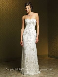MS-M1006L Mia Solano Wedding Gown | Second Wedding Dresses