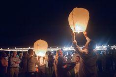 lanterns for best wedding reception ever