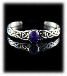Celtic Style Silver Bracelet