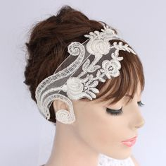 how to make head pieces venetian | Featured Etsy Shop:Mama Mia Bridal