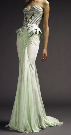 versace art deco dress