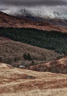 Snow Capped Ceann Loch Uachdrach - Mark Mullen