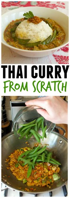 How to make Thai curry completely from scratch! @arouseappetites