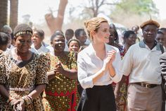 Emma Watson in Malawi (October 10)