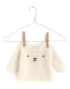 Jersey de punto de bebé a dos agujas - Teddy Baby
