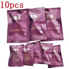 女性の膣修理ハーブタンポン製品、美しい人生膣きれいなポイントタンポン10ピース
