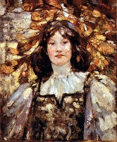 Autumn, 1898 painting by Glasgow Girl Bessie MacNicol Glasgow Girls, Glasgow School Of Art, Female Painters, Impressionist Paintings, Modern Artists, Female Art, Art Girl, Illustration Art, Fine Art