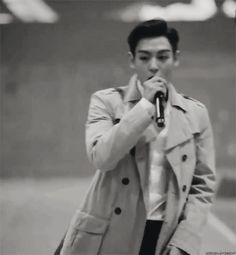 I love TOP's passion when he raps.