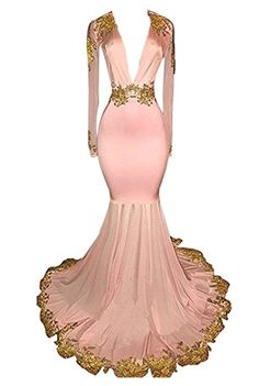 Online Shop JaneVini Sexy African Royal Blue Prom Dress Deep V Neck Mermaid Bridesmaid Dresses Gold Lace Long Sleeve Wedding Party Gown 2018 Lavender Prom Dresses, Turquoise Prom Dresses, Orange Prom Dresses, Floral Prom Dresses, Royal Blue Prom Dresses, Mermaid Bridesmaid Dresses, Strapless Prom Dresses, Plus Size Prom Dresses, Dresses Uk