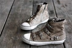 Buckles make it better. (Ash sneakers)