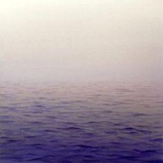 Before Dawn oil on canvas semiabstract seascape by MardivaStudio, $185.00
