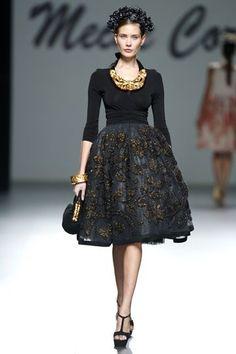 Meche Correa Peruvian Designer Madrid Fashion Week 2014