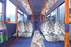 bus interior design concept