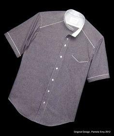 Dress shirt pocket styles sewing