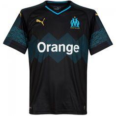 Camiseta del Olympique Marsella 2018-2019 Visitante  OM  olympiquemarseille   marsella  shirt 7611a733c954a
