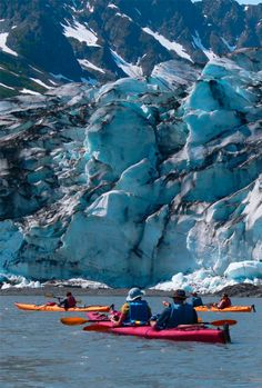 #PinUpLive Travel through Alaska's vast wilderness, from kayaking the Prince William Sound to hiking at the foot of mammoth Denali. >>> This looks unbelievable! Alaska Trip, Alaska Travel, Travel Usa, Australia Tourism, Cruise Europe, Kayak Tours, Places Worth Visiting, Bahamas Cruise, Us National Parks