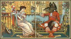 Twitter / sommeil3: ウォルター・クレインによる美女と野獣挿絵  http://t ...