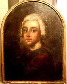 Prince Charles Edward Stuart about 10 years old c1730. . . Artist unknown?  Steggall collection.