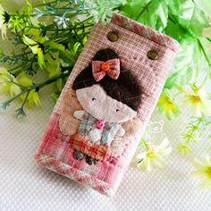 手工布艺diy材料包先染材料包拼布包小小花仙子钥匙包特价-淘宝网