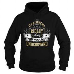 I Love RIDLEY RIDLEYYEAR RIDLEYBIRTHDAY RIDLEYHOODIE RIDLEYNAME RIDLEYHOODIES  TSHIRT FOR YOU T-Shirts