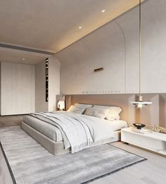 Interior Design Images, Bed Back, Interior Concept, Doha, Luxurious Bedrooms, Luxury Homes, Master Bedroom, Living Room, House