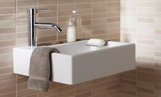 Small Bathroom Sink Wall Mount: Small Piece for Huge Convenience in Bathroom