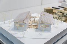 受賞作品 - 木の家設計グランプリ Fallout 4 Settlement Ideas, Co Housing, Sims House Plans, Minecraft House Designs, Diagram Design, Hills Resort, Pavilion Design, Architect Design, Feng Shui