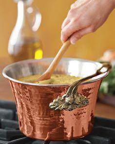 Love copper in the kitchen!