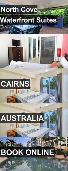 Hotel North Cove Waterfront Suites in Cairns, Australia. For more information, photos, reviews and best prices please follow the link. #Australia #Cairns #NorthCoveWaterfrontSuites #hotel #travel #vacation
