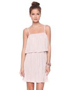 Night Out Pleat Dress - $22.80