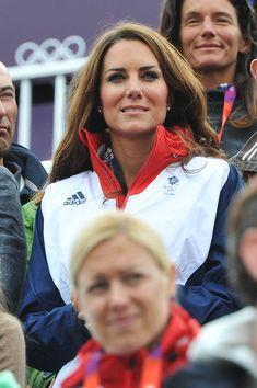 Kate Middleton Photos - Olympics - Day 4 - Royals at the Olympics - Zimbio