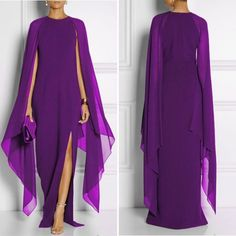 Beautiful Purple - Flowing Gown