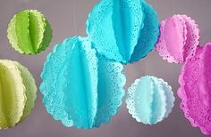 Doily Party Decor