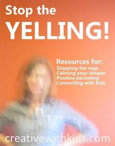 Resource list for dealing with parenting anger and finding positive parenting tools