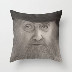 Moonshiner Popcorn Sutton Pillow or Pillow Cover by PoeDesignscom, $30.00