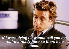 If I were dying ...