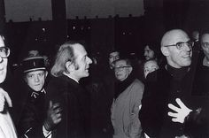 Gilles Deleuze, Jean-Paul Sartre et Michel Foucault