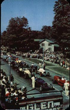 International Sports Car Grand Prix Road Race Watkins Glen New York
