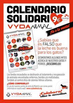 Calendario 2015 Solidario Vydanimal http://vydanimal.org
