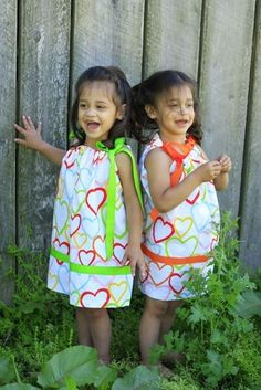 Pillowcase Dress - Valentines Day