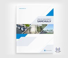 Samchully Annual Report 2017 | 커뮤니케이션 동감 Pamphlet Design, Ppt Design, Brochure Design, Album Design, Book Design, Cover Design, Annual Report Covers, Cover Report, Editorial Layout