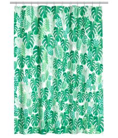 H&M Pineapple Shower Curtain