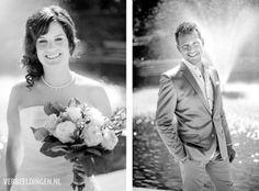 The bride and groom / de bruid en de bruidegom