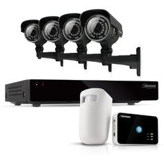 Defender Connected 8CH H.265 500GB Smart Security DVR with 4 x 600TVL IR Cut Filter 100ft Night Vision Indoor/Outdoor Cameras (21024) - Bonus Driveway Motion Alert System Included by Defender. $594.99. Extremely Easy to Set Up and Use This Defender system functions just like a computer, with a mouse for pointing and clicking and an intuitive icon-based menu that provides prompts and coaching to assist you in navigating the system. It's even so simple to use it will begin rec...