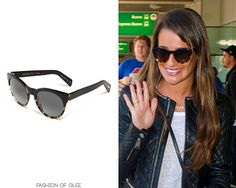 Lea Michele arrives at JFK, New York City, May 12, 2013 Thanks Muro! Oliver Peoples 'Alivia' Polarized Sunglasses - $340.00 Worn...