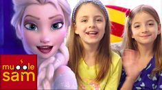"FROZEN ""Let it Go"" Disney (Demi Lovato) | 8 and 10 Year Old Sophia & Bella"