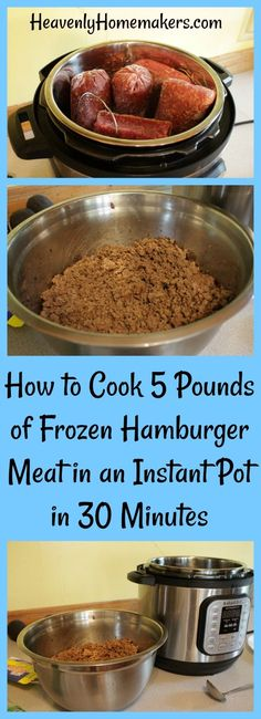 How to Cook 5 Pounds