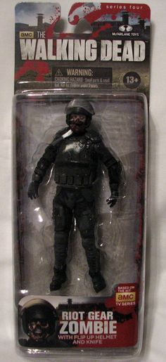 Riot Gear Walker The Walking Dead McFarlane Series 4