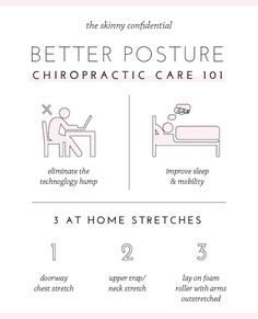 stretches for better posture chiropractic health benefits by the skinny confidential